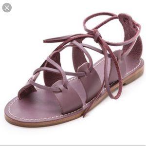 Madewell gladiator Kalahari sandals size 8